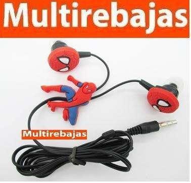 Audífonos Muñecos Spider Man