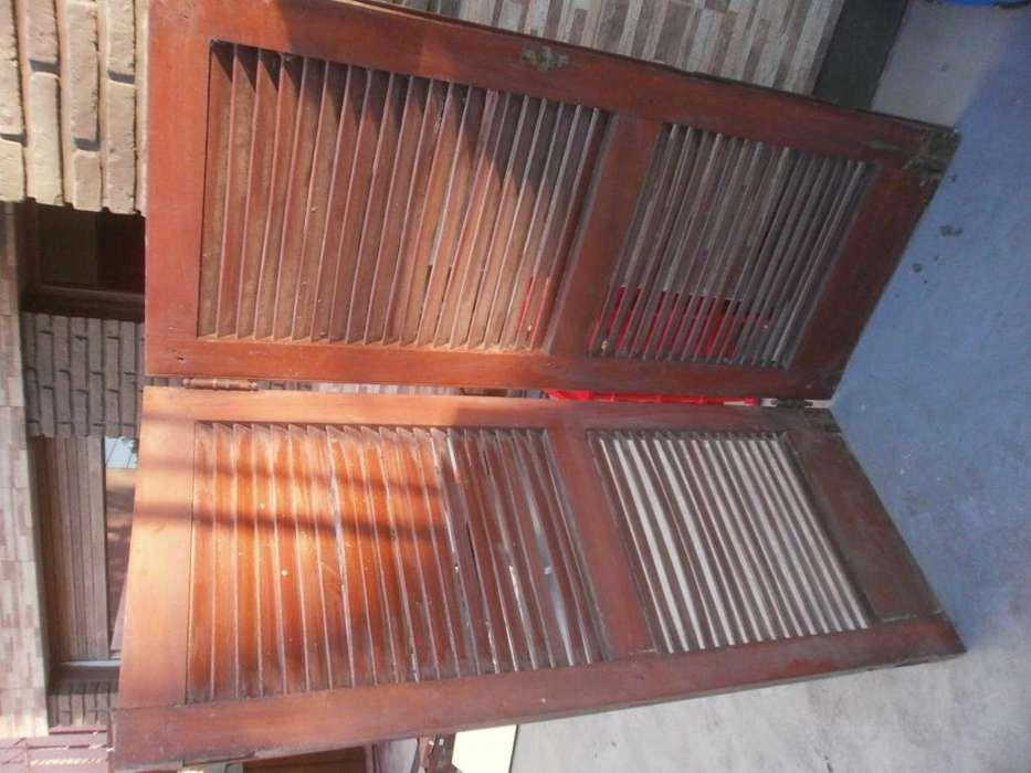 postigones de madera