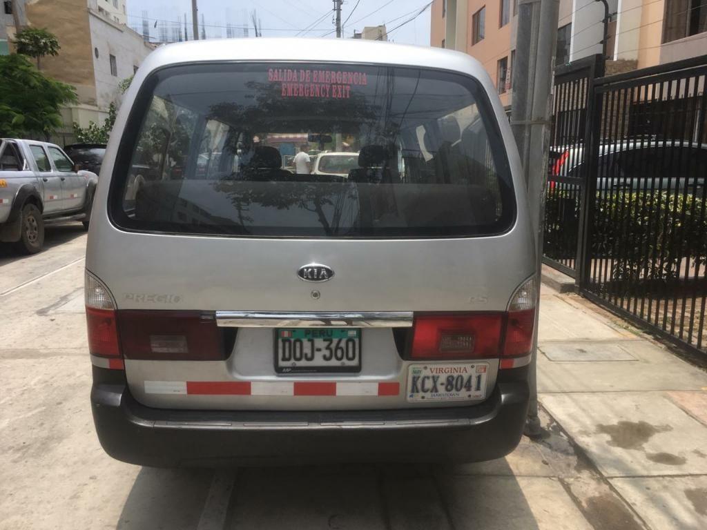 Vendo Camioneta Kia Pregio 2004