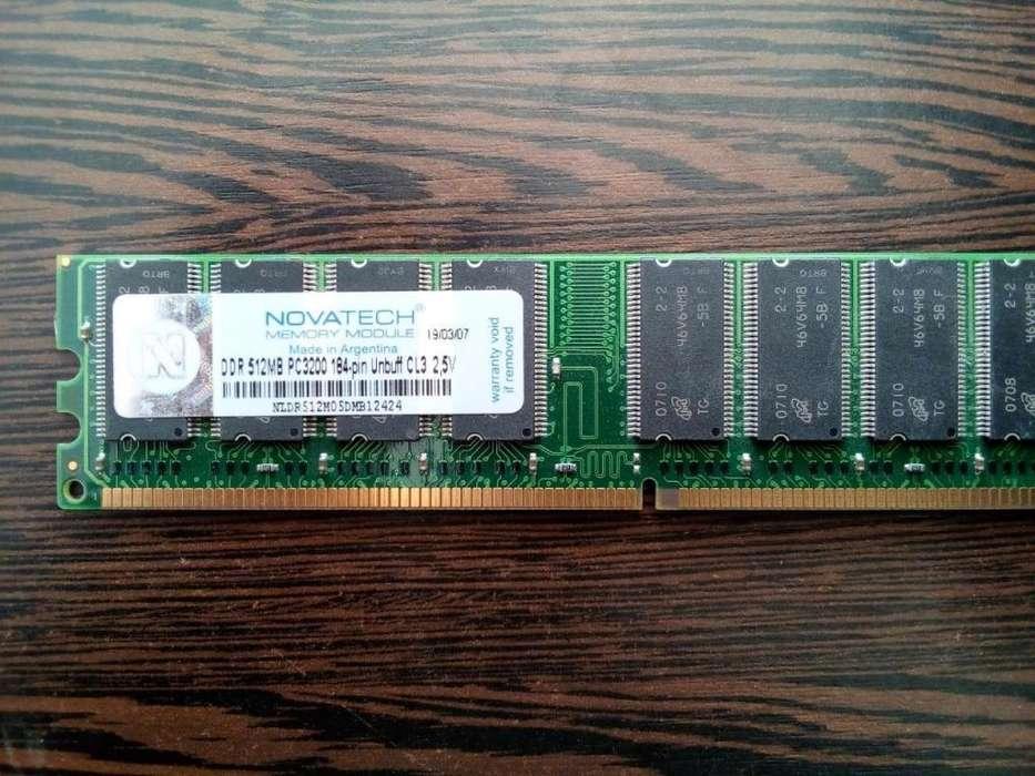 MEMORIA 512 MB DDR PARA P.C.
