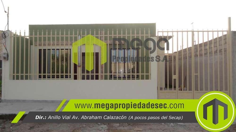 Se vende casa nueva, Portón del río, vía Quininde.