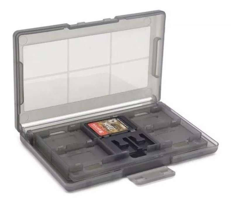 Caja Organizadora Juegos Nintendo Switch