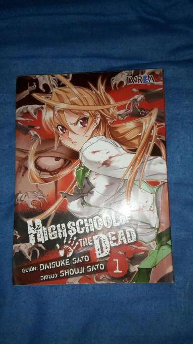 Manga Highschool Of The Dead Tomo 1
