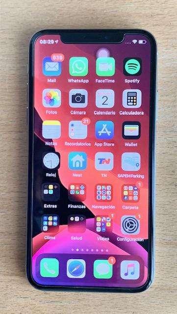 iPhon X 4G 256 GB muy poco uso, impecable, Liberado de fabrica
