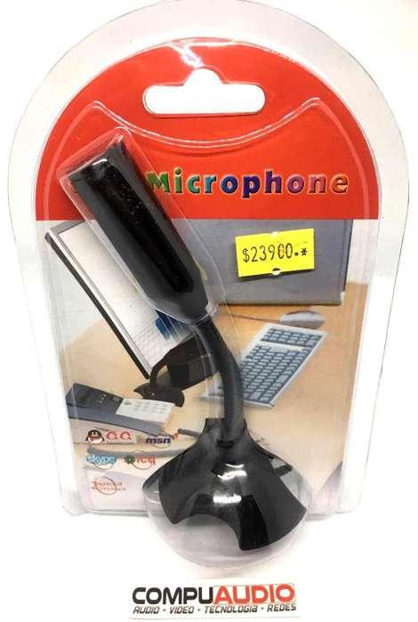 Microfono para computador via USB