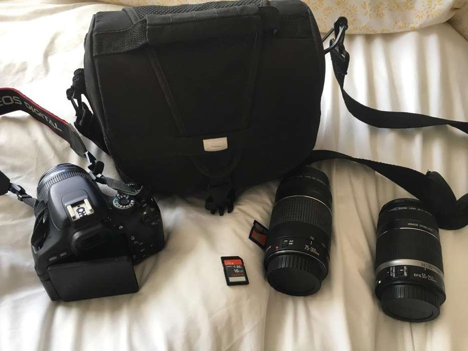 Camara Canon Eos Kiss X5