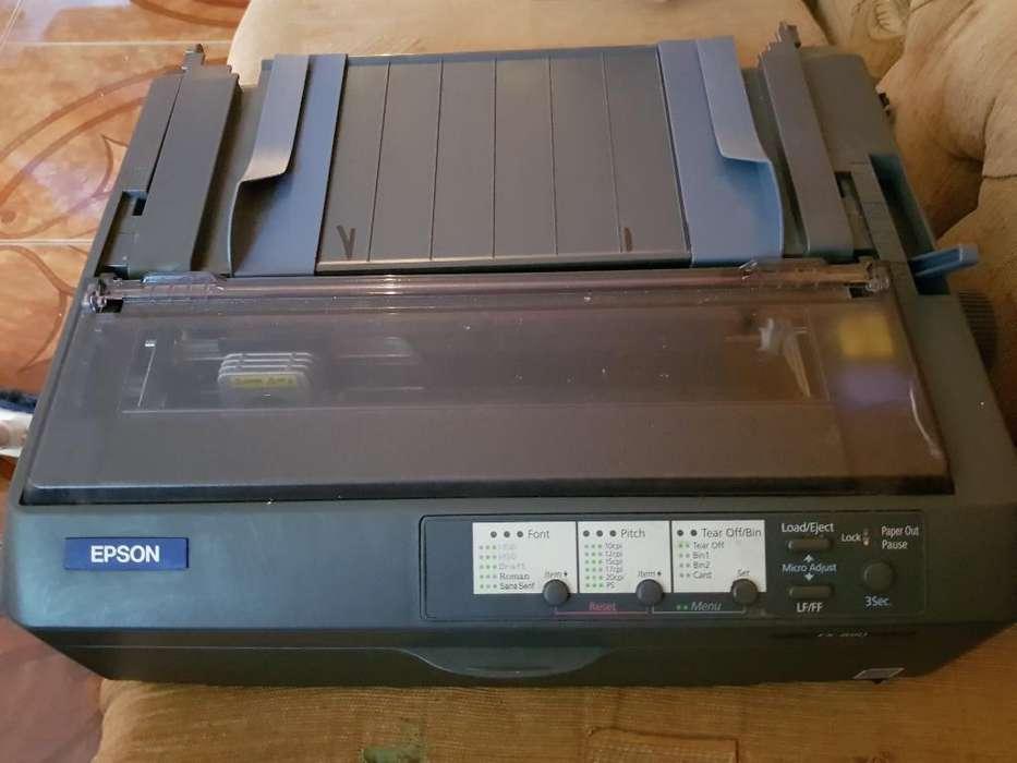 Vendo Impresora Epson Fx 890