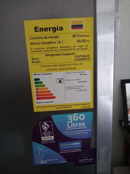 Vendo Nevera Centrales 360 Litros
