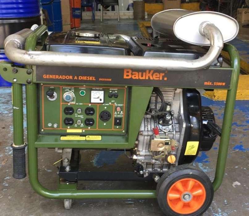 Planta Electrica Bauker 5500W