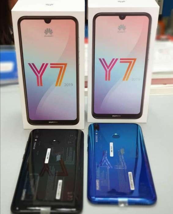 Huawei Y7 2019 32gb Nuevos Sellados