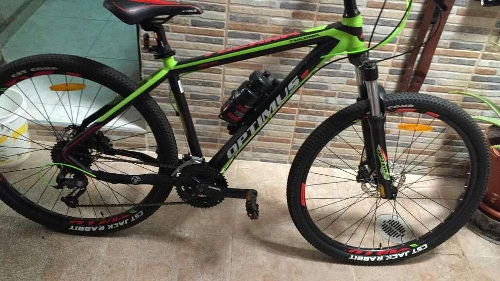 Vendo Bicicleta Optimus Talla L