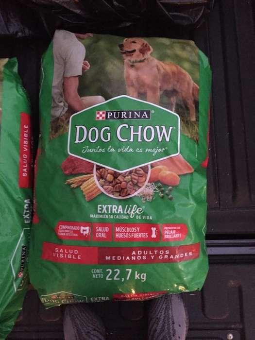 DOG CHOW DE 22 KL ADULTO RAZA GRANDE