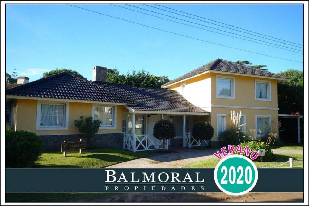 Ref: 8830 - Casa en alquiler, Pinamar, Zona Golf Viejo