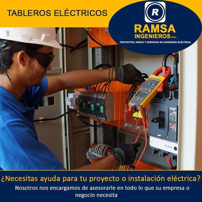 INGENIERO ELECTRICISTA; ASESORÍAS, PROYECTOS, OBRAS Y SERVICIOS ELÉCTRICOS