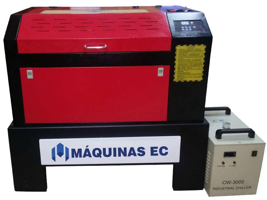 Máquina Corte Grabado Láser FORZA 4 Mdf Acrílico Foami Cuero