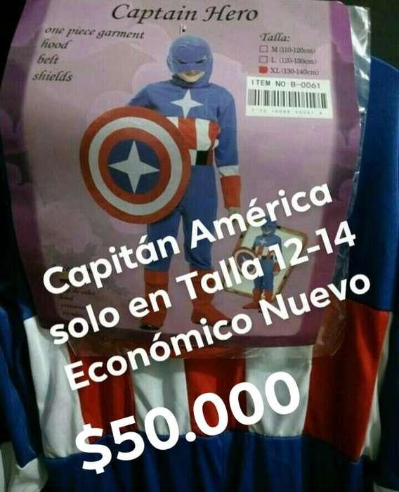 Diafraz Capitan America Nuevo