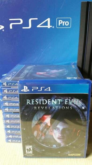 Resident Evil Revelations Ps4 nuevo Sellado Stock