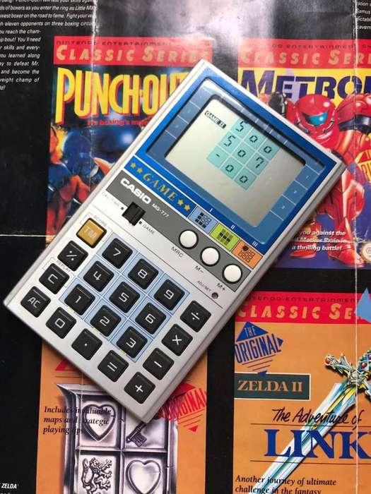 Calculadora Casio Game Watch Mini Arcade Funciona Retro 1981