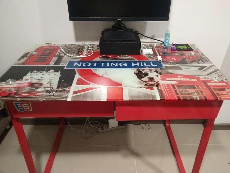 <strong>escritorio</strong> Vidrio Notting Hill 105x58x76