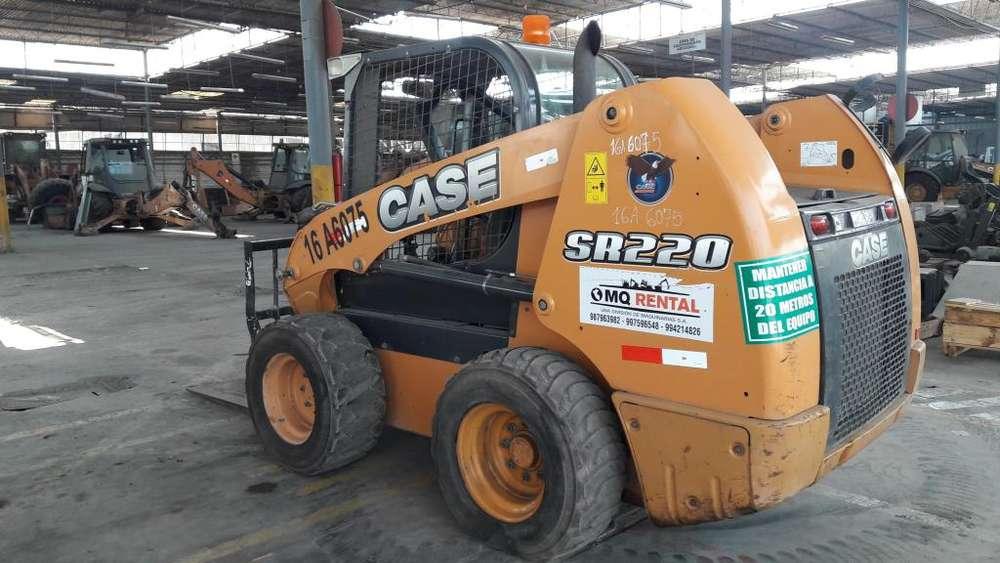 MINICARGADOR CASE SR220