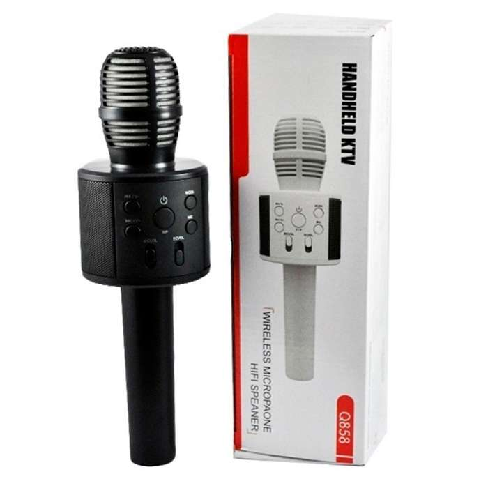 Microfono <strong>karaoke</strong> Bluetooth Inalámbrico Parlante Luz Led