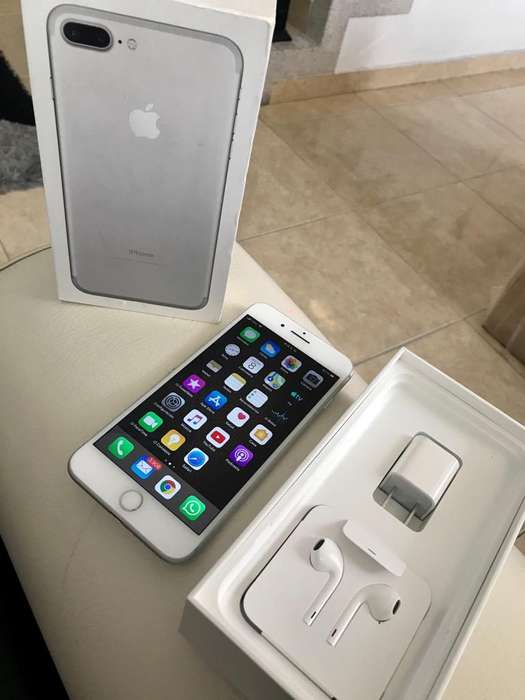 iPhone 7Plus con Caja Y Accesorios Origi