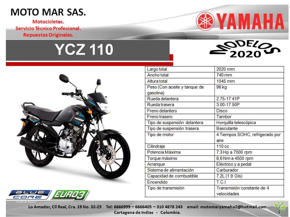 MOTO YAMAHA YC110 MODELO 2020