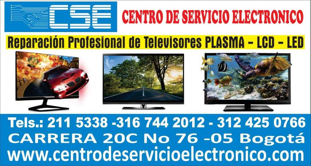 REPARACIÓN DE TELEVISORES: LED – SMART – LCD – 3D - 4K - CARRERA 20C No 76-05 Tel 2115338 CL3167442012