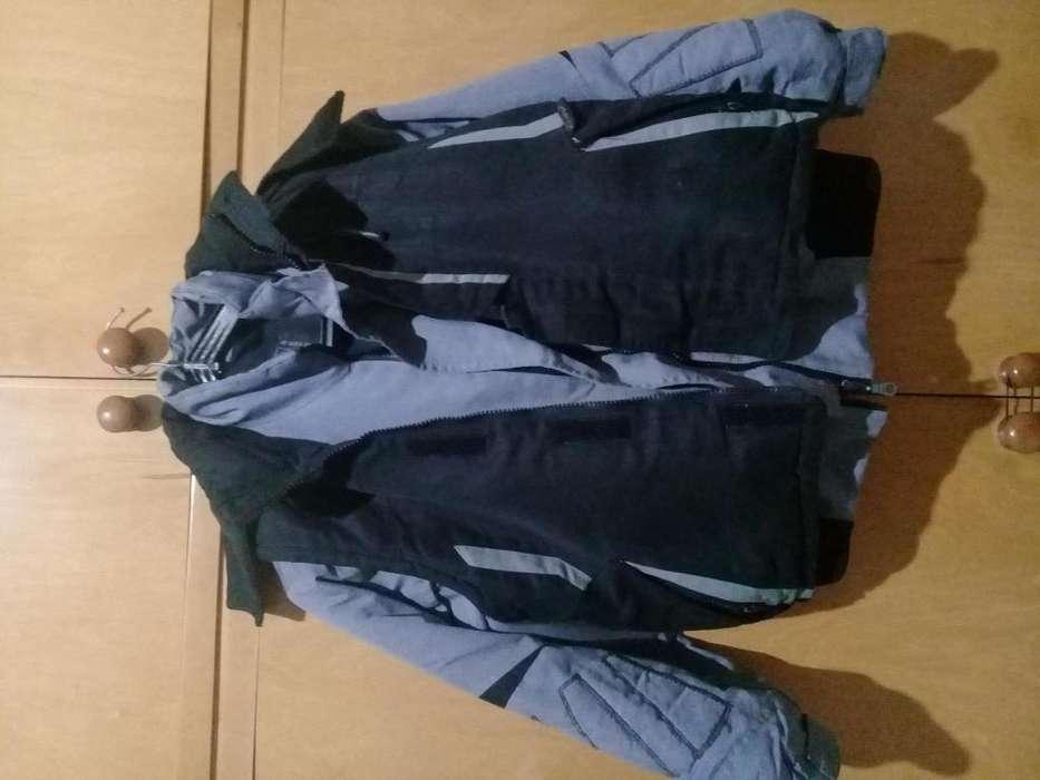 Camperas y chaleco de <strong>abrigo</strong> talle 6 900 y gris talle 6 1000nueva