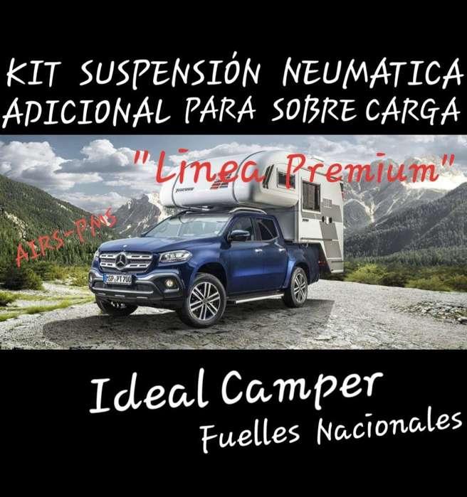Camper <strong>camioneta</strong> Refuerzo Auxiliar