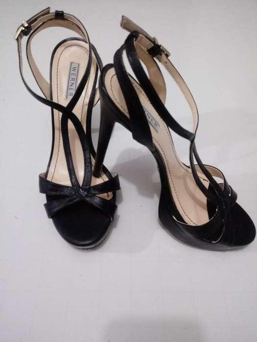 Sandalias de Tacon Werner Calzado Brasil