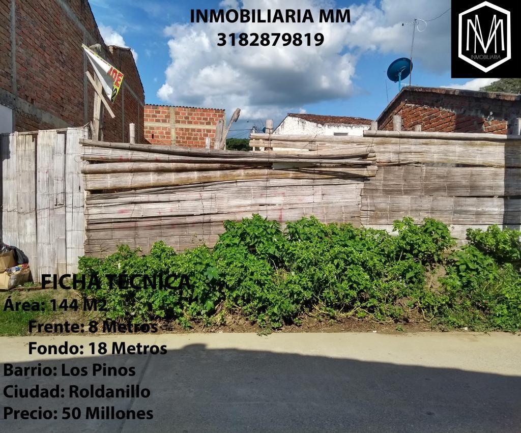 Se vende Lote - Barrio Los Pinos de Roldanillo (Valle del Cauca)