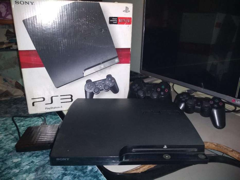Playstation 3 Flasheada Y Disco Usb 1tb