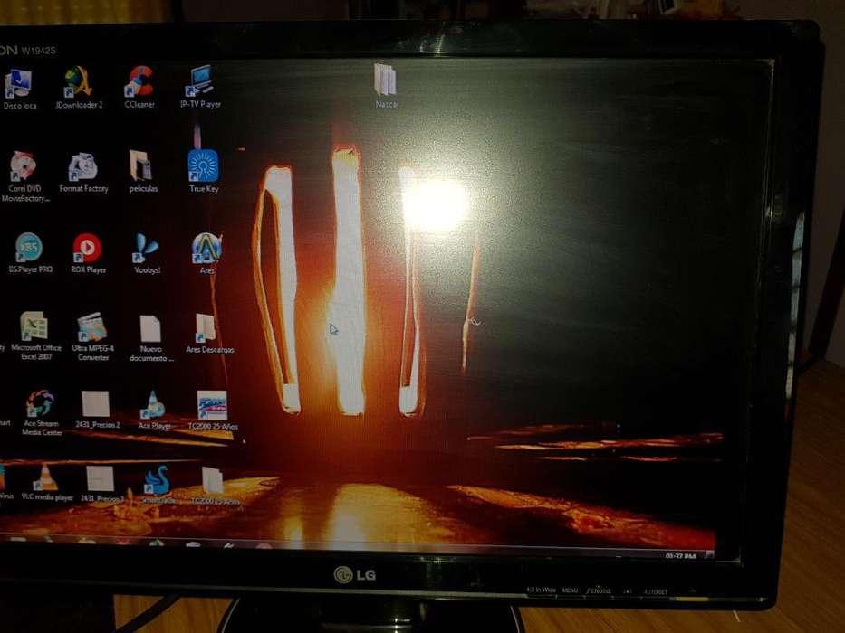 Vendo Monitor Lg Lcd 19 Pulgadas