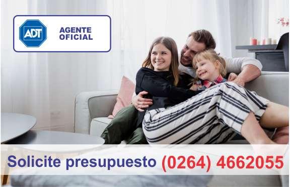 Adt Alarmas monitoreadas en San Juan 0264 4662055 / Agente Oficial