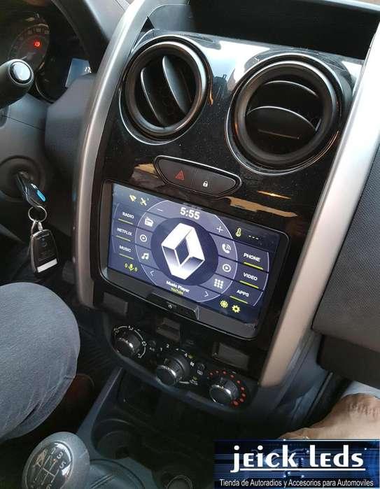 Nueva Radio Android 8.1 Renault Duster Dacia Logan 2012 2013 2014 2015 2016 2017 2018 2G RAM