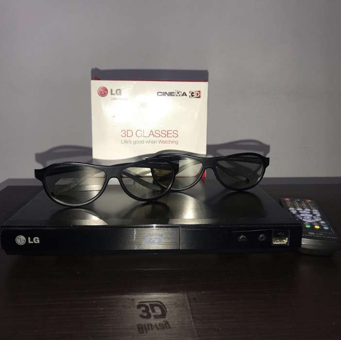 Bluray Reproductor 3D Lg , Incluye Gafas