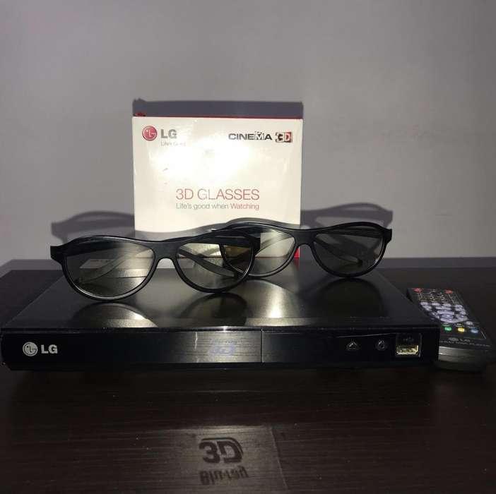 Bluray Reproductor 3D Lg , Incluye Gafas