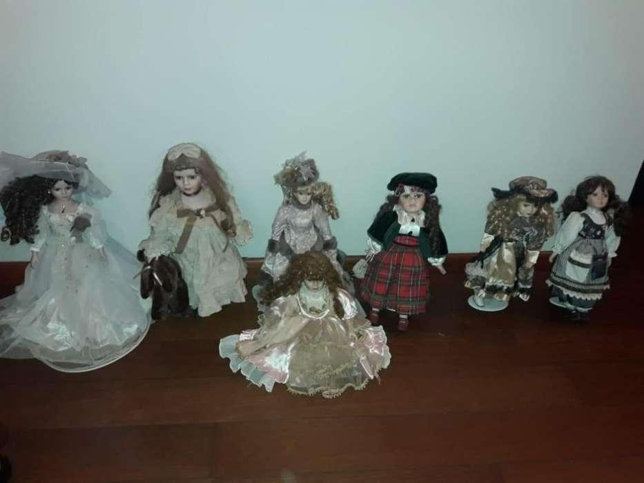 Muñecas de porcelana importadas
