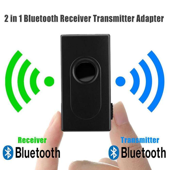 Recargable Transmisor -Receptor de Audio Bluetooth 4,2 Estereo