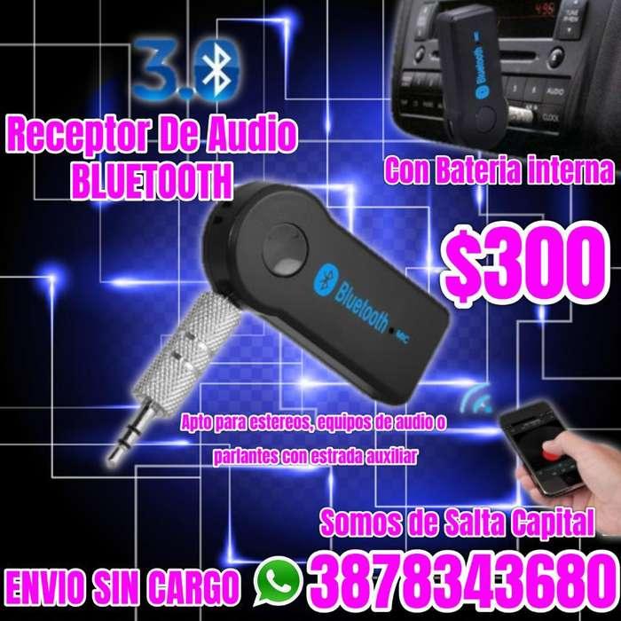 Receptor de Audio Bluetooht con Bateria