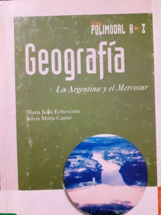 Libro Geografia