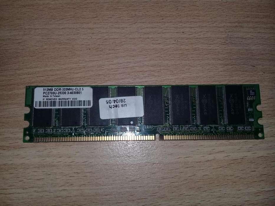 Vendo Memorias Ram de PC. Comunicarse al 2932-613815 (no por olx).