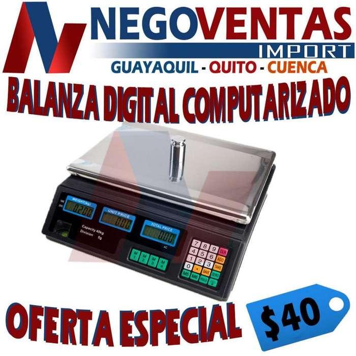 BALANZA DIGITAL IDEAL PARA SU NEGOCIO DE OFERTA