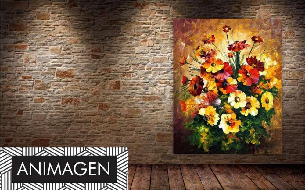 Hermoso cuadro de flores 2191