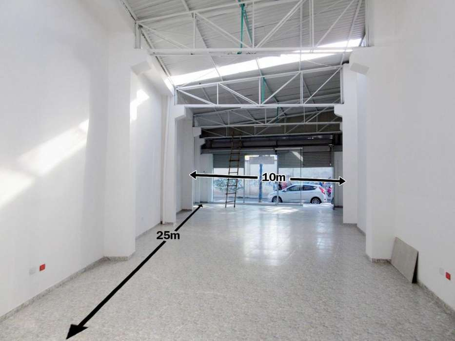 ARRIENDO Local/Bodega, Av/Potrerillo. Sala de Exhibicion. 200m2. Negociable