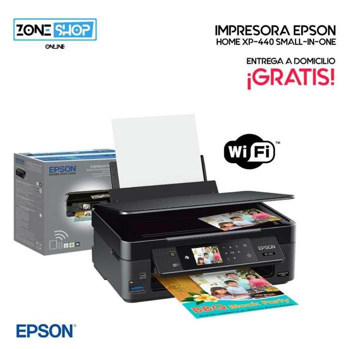 Impresora Epson Home Xp-440 con Wi-fi
