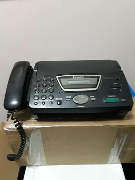 Teléfono-fax <strong>panasonic</strong>