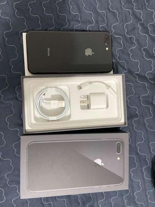iPhone 8Plus Negro 64Gb 10/10