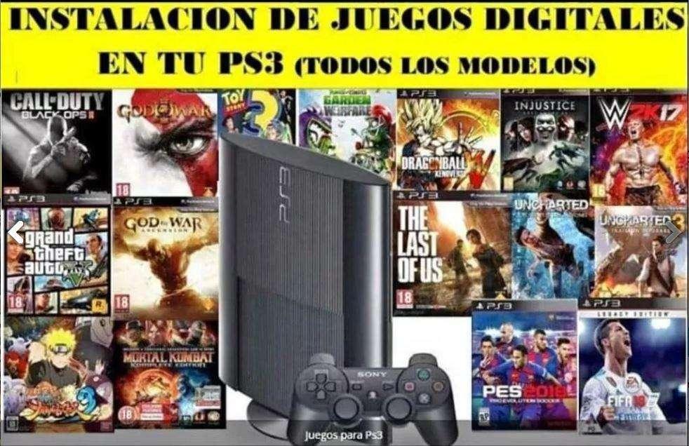 Chip virtual PS3 PlayStation 3 mas juegos